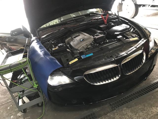 BMW 630i  ESP点灯の原因