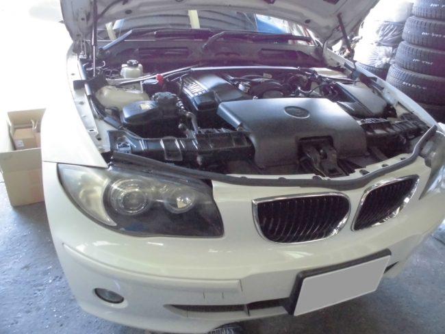 BMW116 エンジンコンピュータ交換