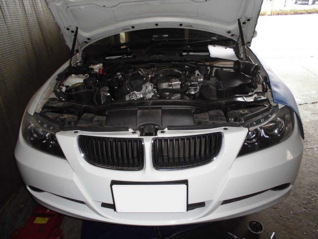 BMW 320i オイル燃焼の解消