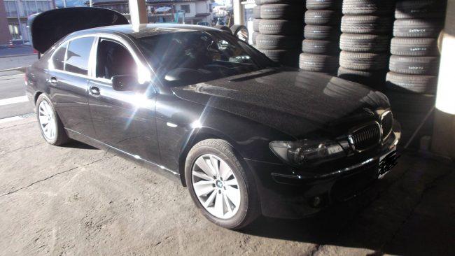 BMW E65 750i ABS警告灯・エアバッグ警告灯の点灯対応