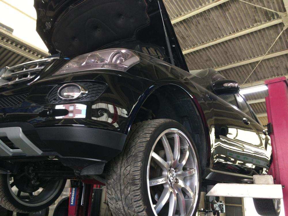 メルセデスベンツML350 オートマ内部クラッチの不良修理
